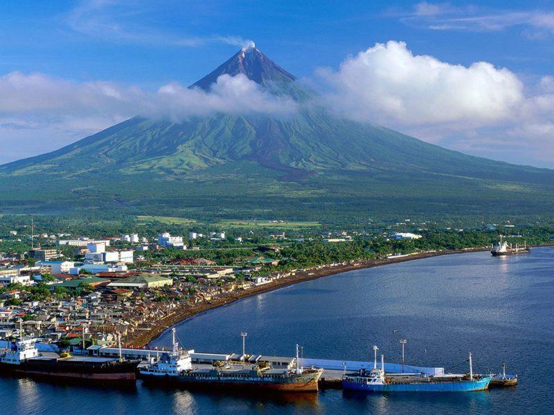PHILIPPINEN REISEN - ORTE - Die Provinz Albay