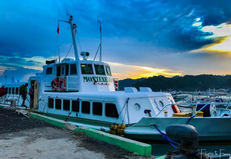 PHILIPPINEN REISEN - SCHIFFSPASSAGEN - Schiffspassage El Nido nach Coron