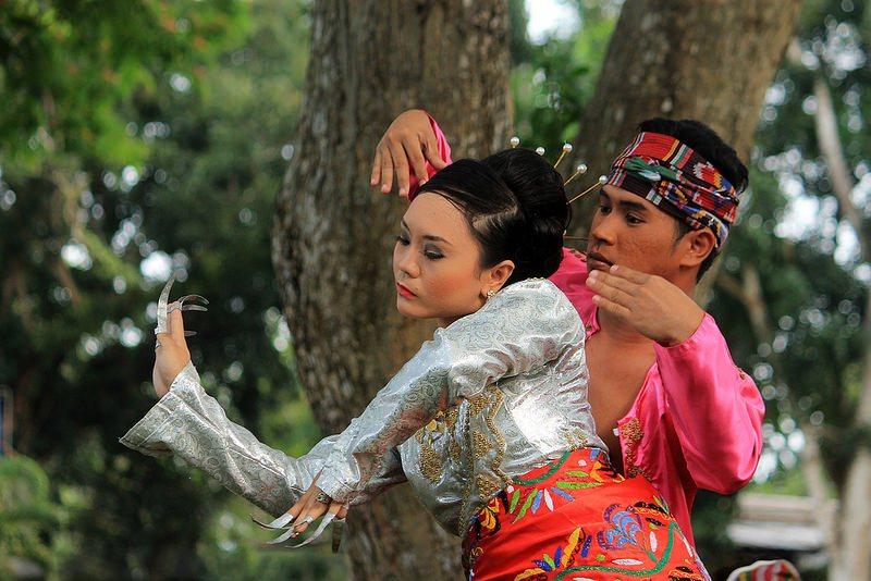 PHILIPPINEN REISEN - KULTUR- KUNST - Tanz Pangalay