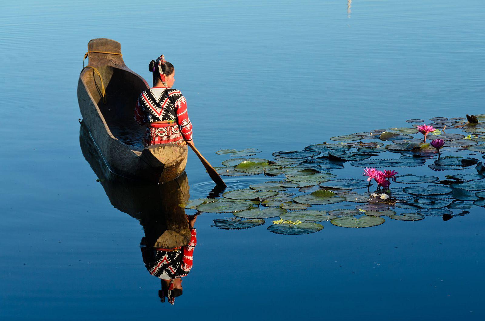 PHILIPPINEN REISEN - SEEN - Der See Sebu