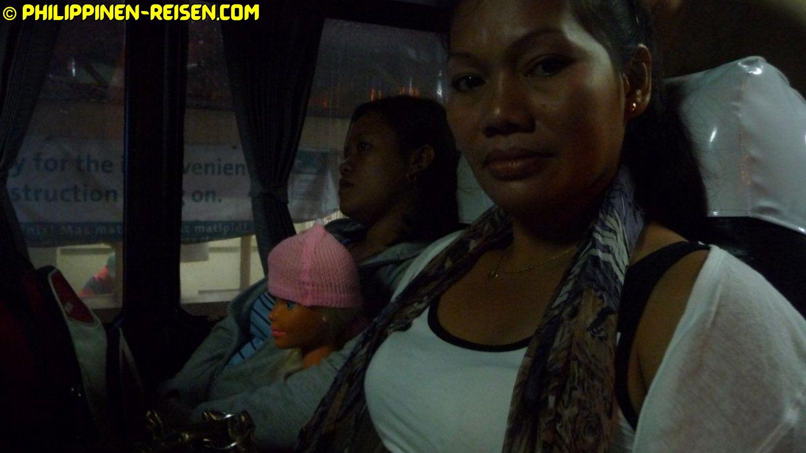 PHILIPPINEN REISEN - REISEBERICHTE - Busfahrt nach Lianga Foto von Sir Dieter Sokoll