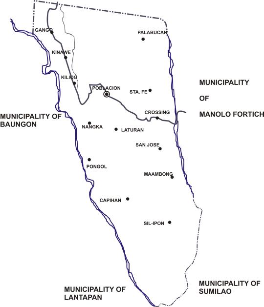 PHILIPPINEN REISEN - ORTE - MINDANAO - BUKIDNON - Baungon