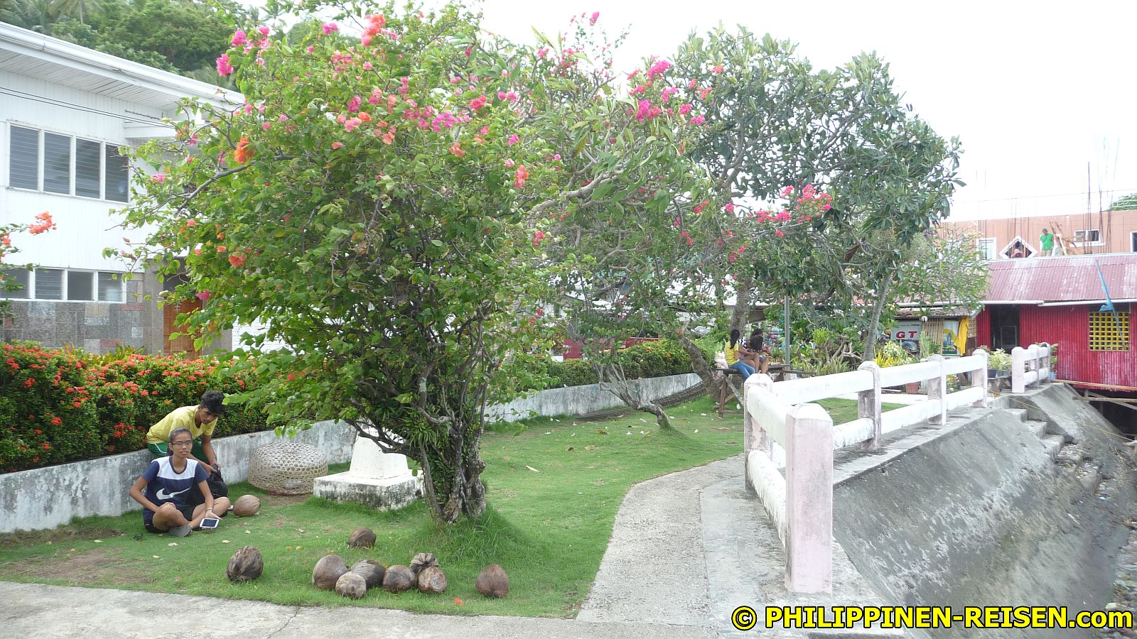 PHILIPPINEN REISEN - REISEBERICHTE - Visayas - Fahrt zu den Camotes Inseln Foto von Sir Dieter Sokoll