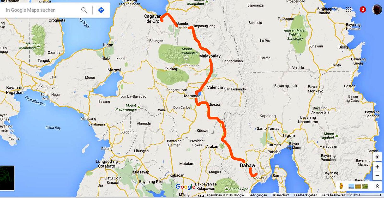 PHILIPPINEN REISEN - REISEBERICHTE - MINDNAO - Umzug mit dem Jeepney von Davao nach Cagayan de Oro