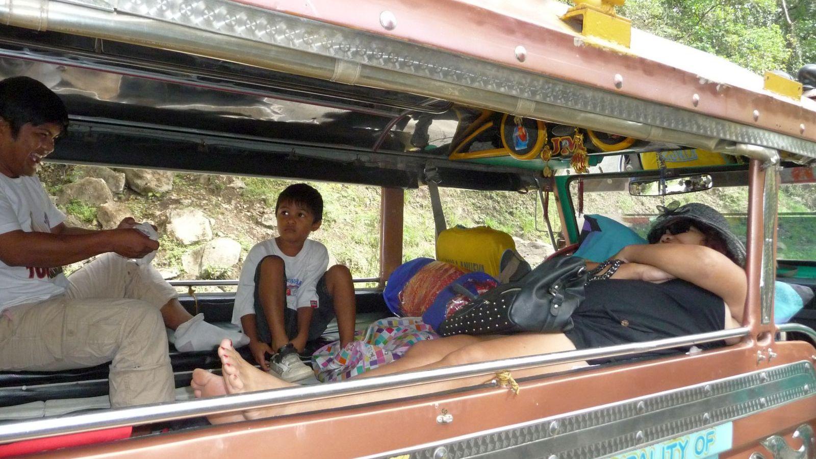 PHILIPPINEN REISEN - REISEBERICHTE - MINDNAO - Umzug mit dem Jeepney von Davao nach Cagayan de Oro Foto von Sir Dieter Sokoll