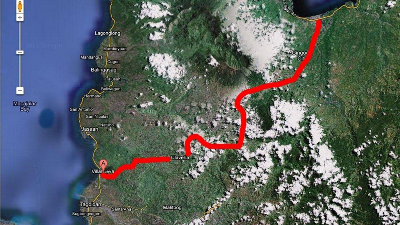 PHILIPPINEN REISEN - REISEBERICHTE - Mindanao - Unterwegs auf der N955