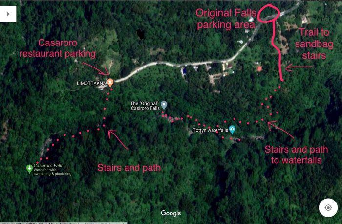 PHILIPPINEN REISEN - WASSERFÄLLE - Casaroro Wasserfälle
