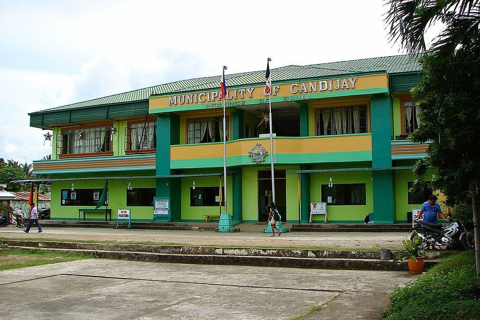 PHILIPPINEN REISEN - ORTE - BOHOL - Touristische Ortsbeschreibung für Candijay