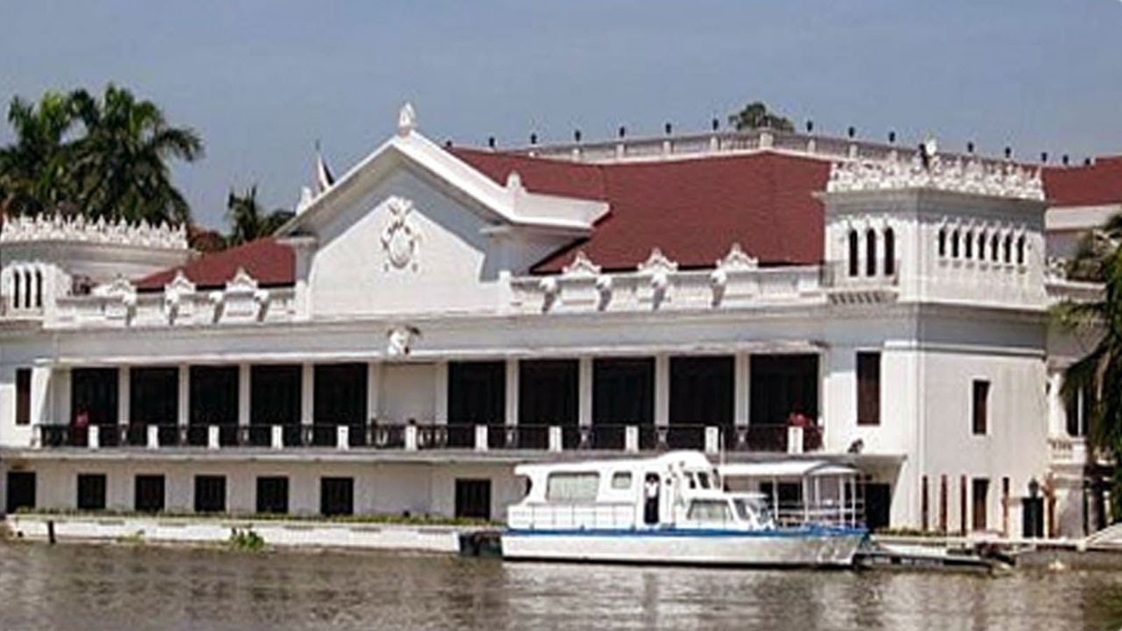 PHILIPPINEN REISEN - KULTUR - HISTORISCHE ORTE UND PLÄTZE - Malacanan Palast