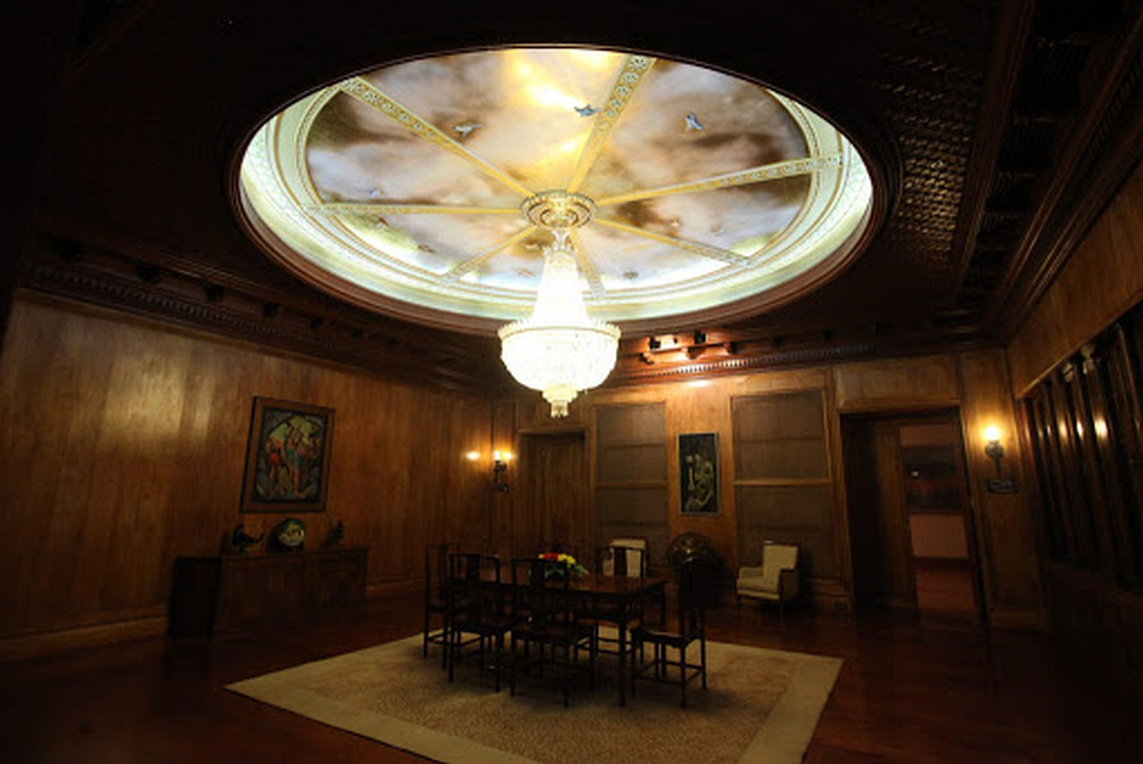 PHILIPPINEN REISEN - KULTUR - HISTORISCHE ORTE UND PLÄTZE - Malacanan Palast - Staatsräume
